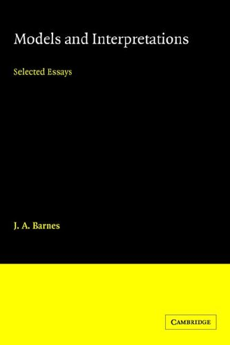 9780521024938: Models and Interpretations: Selected Essays