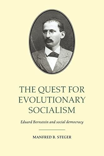9780521025058: The Quest for Evolutionary Socialism: Eduard Bernstein and Social Democracy