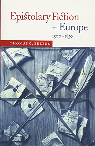 9780521025089: Epistolary Fiction in Europe, 1500-1850