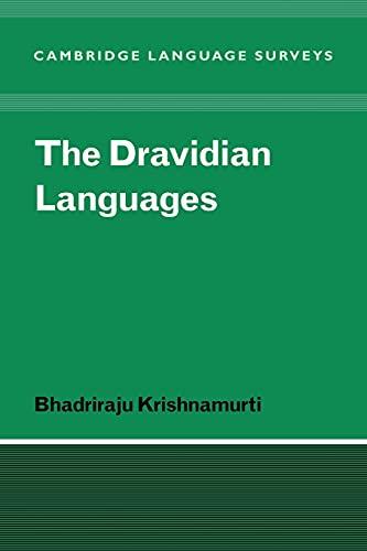 9780521025126: The Dravidian Languages