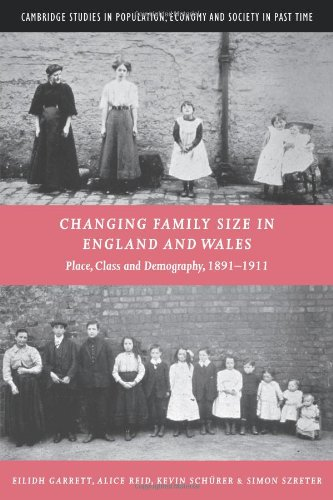 9780521026673: Changing Family Size in England and Wales: Place, Class and Demography, 1891-1911 (Cambridge Studies in Population, Economy and Society in Past Time)