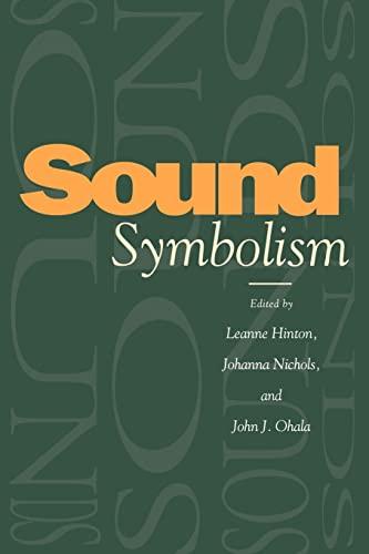 9780521026772: Sound Symbolism