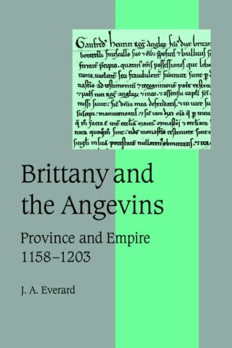 9780521026925: Brittany and the Angevins: Province and Empire 1158-1203 (Cambridge Studies in Medieval Life and Thought: Fourth Series)