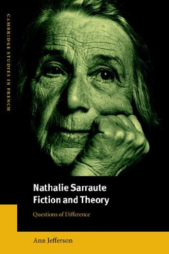9780521027267: Nathalie Sarraute, Fiction and Theory: Questions of Difference