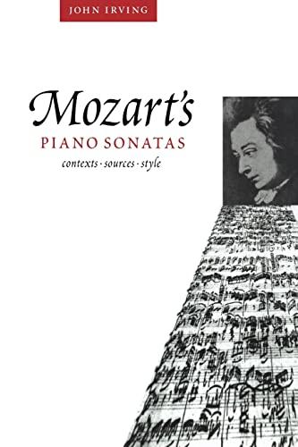 9780521027410: Mozart's Piano Sonatas: Contexts, Sources, Style