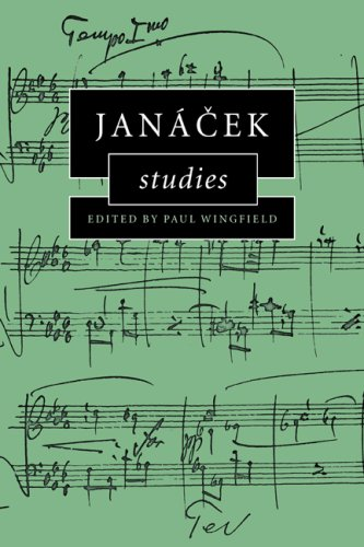 9780521027724: Janácek Studies (Cambridge Composer Studies)