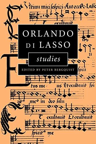 9780521028134: Orlando di Lasso Studies