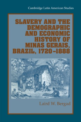 9780521028172: Slavery and the Demographic and Economic History of Minas Gerais, Brazil, 1720-1888 (Cambridge Latin American Studies)