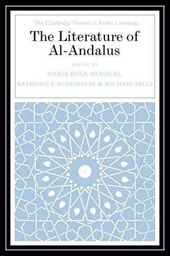 9780521030236: The Literature of Al-Andalus (The Cambridge History of Arabic Literature)