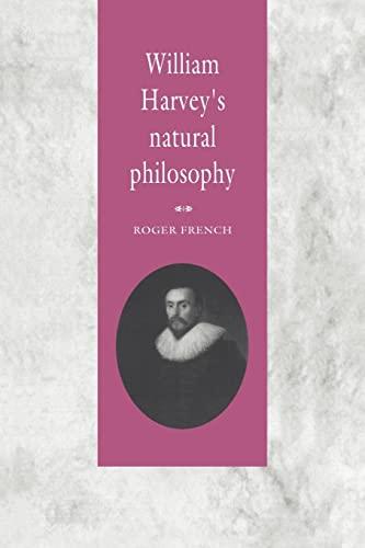 9780521031080: William Harvey's Natural Philosophy