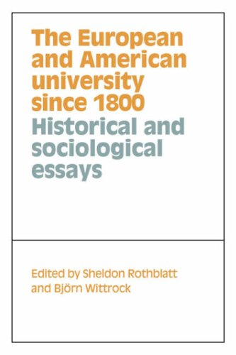 9780521031103: The European and American University since 1800