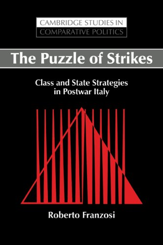 The Puzzle of Strikes: Class and State Strategies in Postwar Italy: Roberto Franzosi