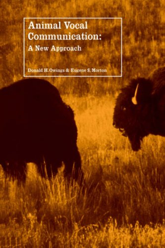 9780521031295: Animal Vocal Communication: A New Approach