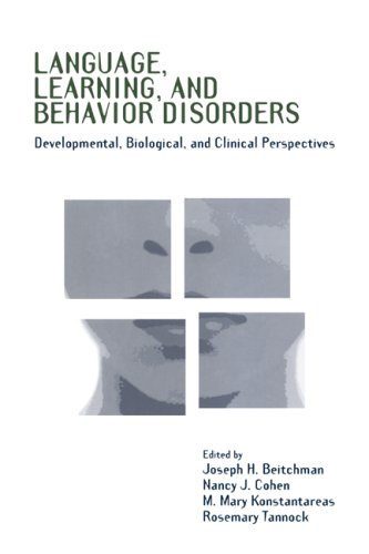 9780521031332: Language, Learning, and Behavior Disorders: Developmental, Biological, and Clinical Perspectives