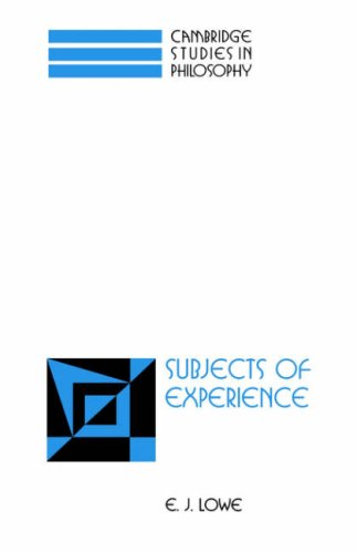 9780521031554: Subjects of Experience (Cambridge Studies in Philosophy)