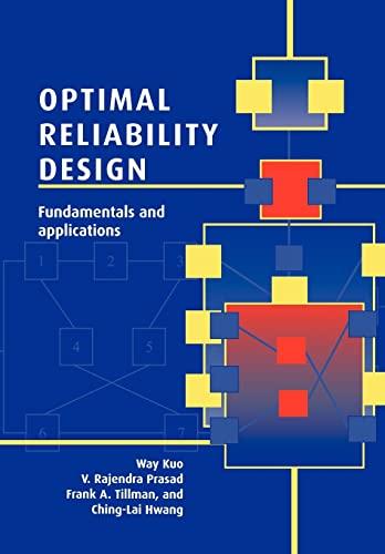 9780521031912: Optimal Reliability Design: Fundamentals and Applications