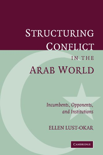 9780521032865: Structuring Conflict in the Arab World: Incumbents, Opponents, and Institutions