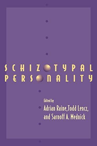 9780521033251: Schizotypal Personality