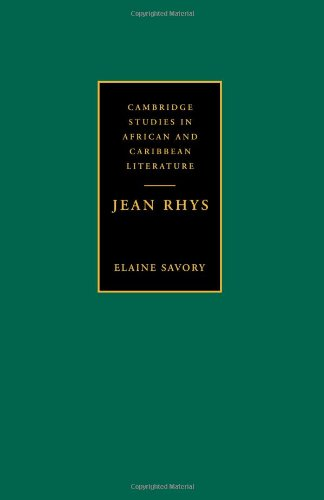 9780521033619: Jean Rhys (Cambridge Studies in African and Caribbean Literature)