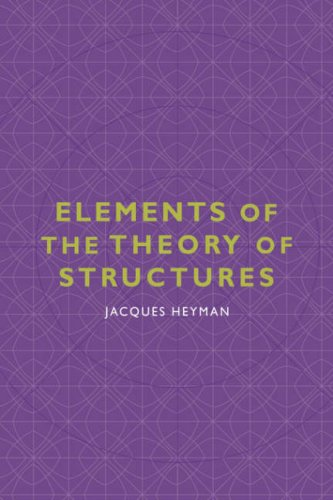 9780521034203: Elements of the Theory of Structures