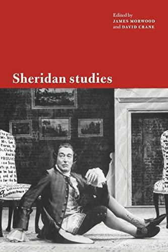 9780521034395: Sheridan Studies