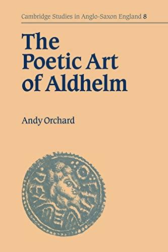 9780521034579: The Poetic Art of Aldhelm (Cambridge Studies in Anglo-Saxon England)