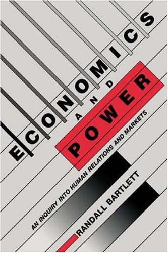 9780521034623: Economics and Power: An Inquiry into Human Relations and Markets