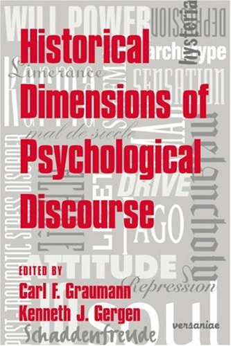 9780521034760: Hist Dimensions of Psychological