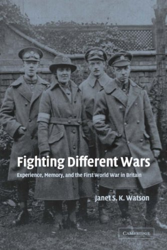 9780521035491: Fighting Different Wars: Experience, Memory, and the First World War in Britain (Studies in the Social and Cultural History of Modern Warfare)