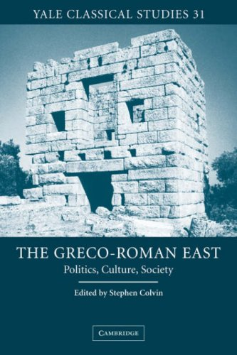 9780521035583: The Greco-Roman East: Politics, Culture, Society