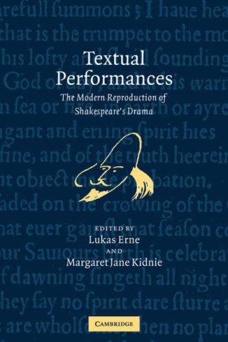 9780521035606: Textual Performances: The Modern Reproduction of Shakespeare's Drama