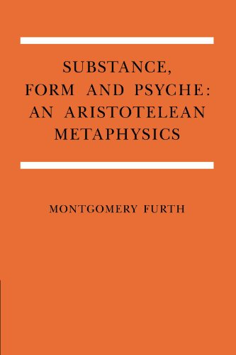9780521035613: Substance, Form, and Psyche: An Aristotelean Metaphysics