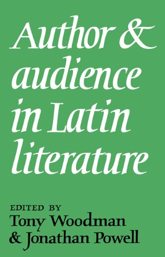 Author and Audience in Latin Literature: Woodman, Tony; Powell, Jonathan (eds.)