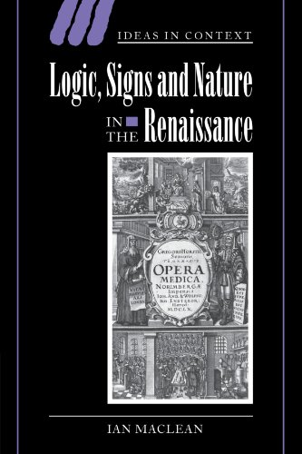 9780521036276: Logic, Signs and Nature in the Renaissance: The Case of Learned Medicine