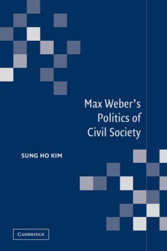 9780521036566: Max Weber's Politics of Civil Society