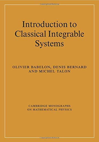 9780521036702: Introduction to Classical Integrable Systems (Cambridge Monographs on Mathematical Physics)