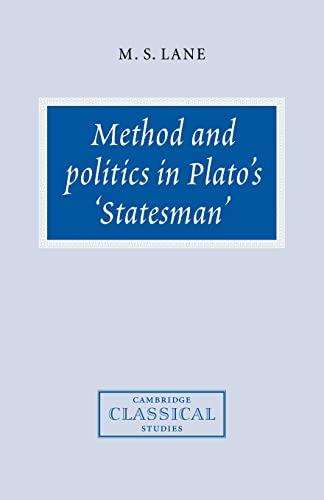 9780521036870: Method and Politics in Plato's Statesman (Cambridge Classical Studies)