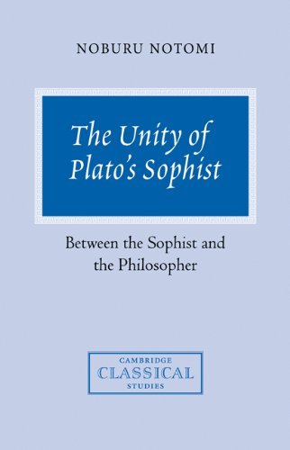 9780521037327: The Unity of Plato's Sophist: Between the Sophist and the Philosopher (Cambridge Classical Studies)