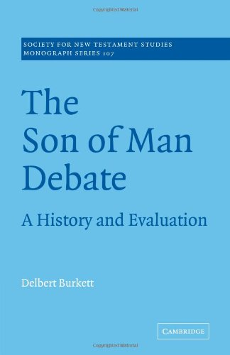 9780521037457: The Son of Man Debate: A History and Evaluation (Society for New Testament Studies Monograph Series)
