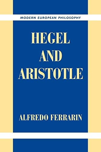 9780521037754: Hegel and Aristotle