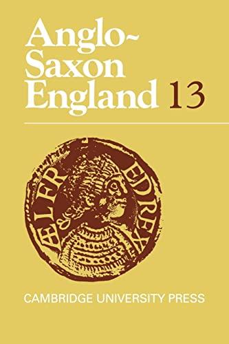 9780521038379: Anglo-Saxon England