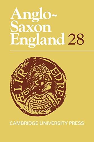ANGLO-SAXON ENGLAND 28.: LAPIDGE, Michael, M.