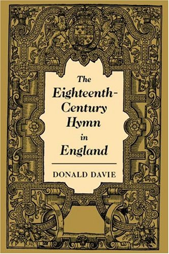 9780521039567: The Eighteenth-Century Hymn in England (Cambridge Studies in Eighteenth-Century English Literature and Thought)