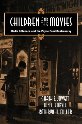 9780521041454: Children and the Movies: Media Influence and the Payne Fund Controversy (Cambridge Studies in the History of Mass Communication)