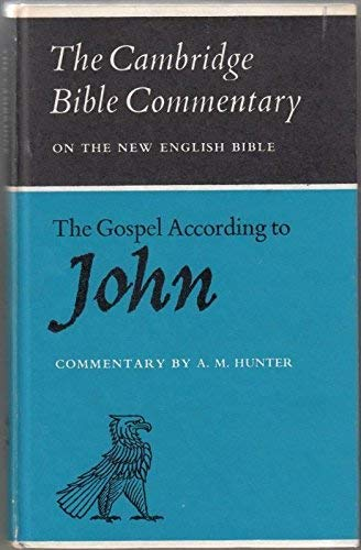 9780521042017: The Gospel according to John (Cambridge Bible Commentaries on the New Testament)