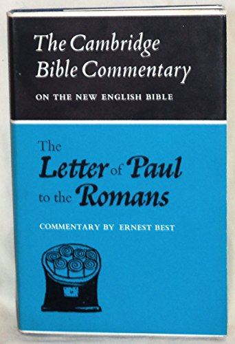 9780521042130: The Letter of Paul to the Romans (Cambridge Bible Commentaries on the New Testament)