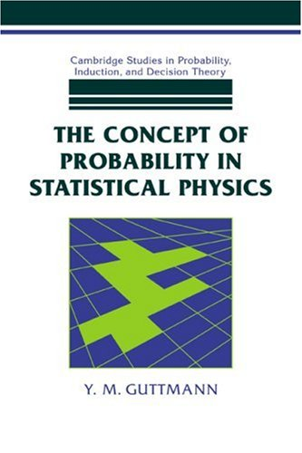 9780521042178: The Concept of Probability in Statistical Physics