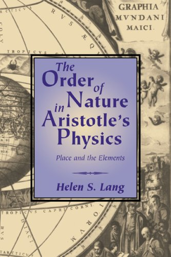 9780521042291: The Order of Nature in Aristotle's Physics: Place and the Elements