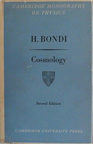 9780521042819: Cosmology (Monographs on Physics)
