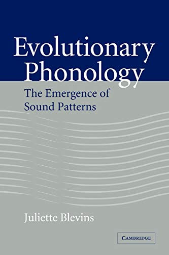 9780521043649: Evolutionary Phonology: The Emergence of Sound Patterns